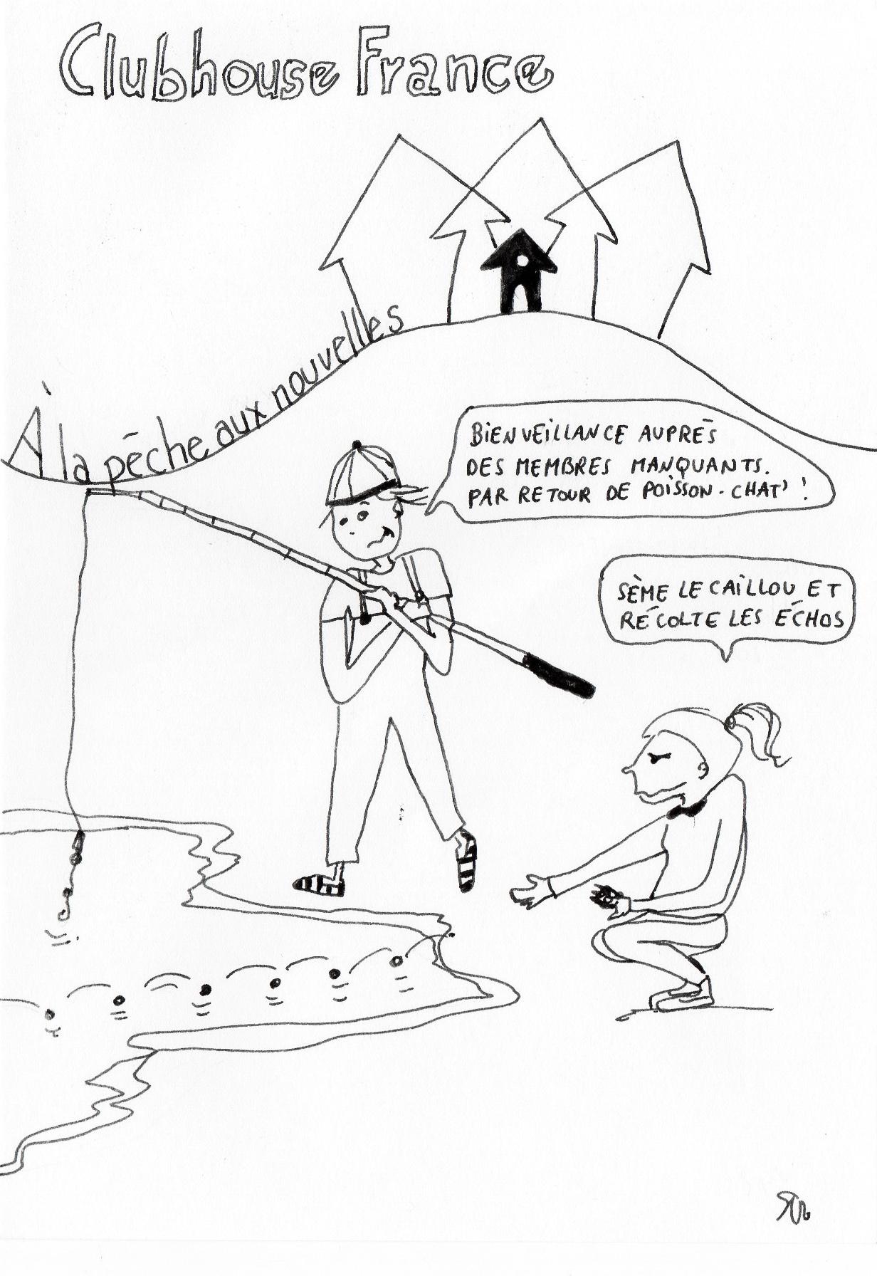 clubhouse pêche nouvelles